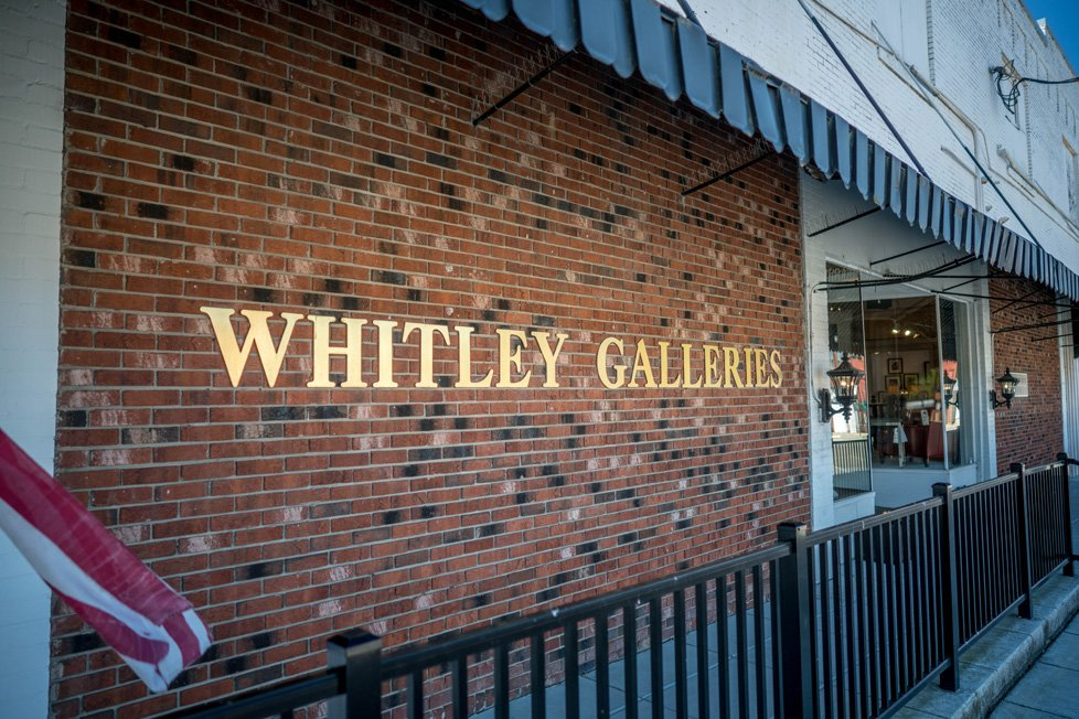 whitley galleries zebulon nc