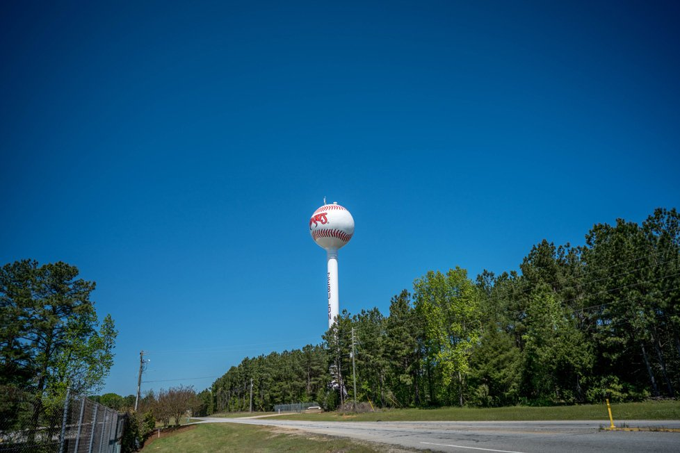 water tower zebulon nc
