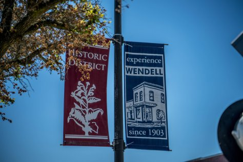 wendell nc historic district flags